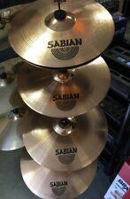 "NEW Sabian B8X Performance Set w/ 14"", 16"" , 20"" Ride, + FREE 18"" Thin Crash"