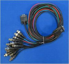 Lot of 2 AJA Video Systems Breakout Cables 103226 for KONA 3G and 4G
