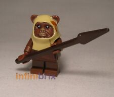 Lego Paploo Ewok from Set 8038 Battle of Endor Star Wars Minifigure NEW sw238