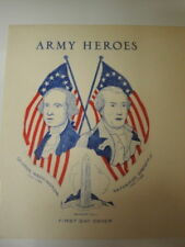 FIRST DAY COVER ARMY  HEROES NUMBER 1