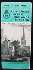 Come Britian #6 East Anglia Midlands Pamphlet 1946