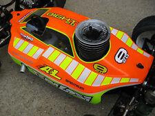 New Losi 8ight 2.0 & 3.0 Clear 1/8 Race Nitro Buggy Body new 4x4 8B