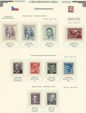 1949 Year Set, Mi. 562 - 604, MNH, Postfrisch **, (44 items)