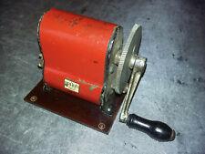 Armée Allemande WWII BRAUN RADIO 1942 Hand Crank - générateur électrique manuel