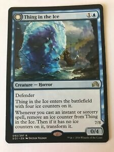 1x MTG - Thing In The Ice - Shadows Over Innistrad - NM