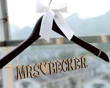 Personalized Wedding Hanger Bride Bridesmaid Name Wedding Dress Hanger LL013