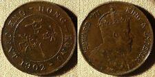 Hon Kong : 1902 1 Ct  XF  Small Rim Dings #  11   IR3638