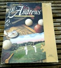 1000 Piece Murder at St Andrews Golf Mystery Jigsaw Puzzle similar to WASGIJ