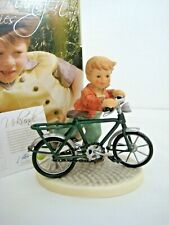 """Rare Goebel Hummel """"First Two Wheeler� #2319 • Tmk9 • Founders Collection • Mint"""