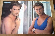 SPANDAU BALLET 'Martin & Gary - vest' Centerfold magazine POSTER 17x11 inches