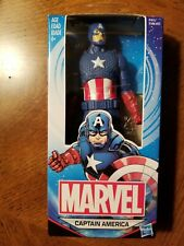"""Marvel Captain America Action Figure 6"""" Plastic Ages 4 & Up Hasbro"""