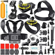 39-in-1 GoPro Accessories Kit Essential Hero 5 Black 4/3/2/1 HD Action Camera