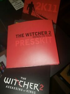 Witcher 2 Press Kit Calendar - RARE