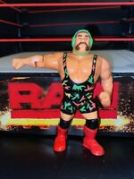 WWE RICK STEINER HASBRO WRESTLING ACTION FIGURE WWF SERIES 9