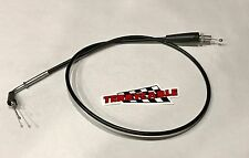 Yamaha Blaster Terry Thumb Throttle Cable 1988-2006 Black Vinyl