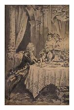 Paul - A. KAUFFMANN, P.K. / dessin original encre / illustration curiosa XVIII