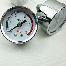 Pressure Mio Gauge for DIY CO2 Generator System Live Plant Aquarium Practical
