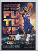 2018-19 Panini NBA Hoops Faces of the Future #10 Mikal Bridges Phoenix Suns Card