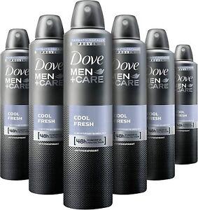 Dove Cool Fresh Anti-Perspirant Deodorant Aerosol For Men 250 ml 48h P-6 NEW