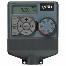 Orbit 57876 Indoor Dual 6-Station Timer for Sprinkler Control for Outdoor LOC 9B
