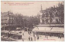 CARTE POSTALE TOULOUSE CARREFOUR LAFAYETTE CAFE DES AMERICAINS 1929