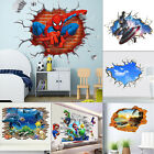 Breakthrough Wall Decals Removable 3D Wall Stickers Kids Bedroom Decor Mural Art