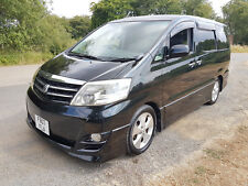 Toyota Alphard MS Platinum 2007 fresh import 8 seater camera low miles camper