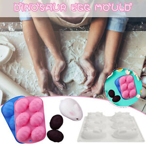 1-3PCS Easter Egg Silicone Mould DIY Bunny Rabbit Chocolate Mold Baking Tool CH