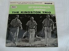The Kingston Trio - Greenback Dollar EP - Capitol EAP 1 20460
