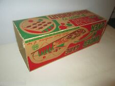 EMPTY BOX FOR MARX OVER N' UNDER SKILL & ACTION GAME BOX WITH NO FLAPS OR GAME
