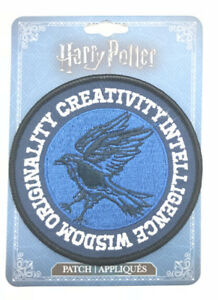 HARRY POTTER RAVENCLAW CREST IRON ON PATCH OFFICIALLY LICENSED FREE SHIPPING US