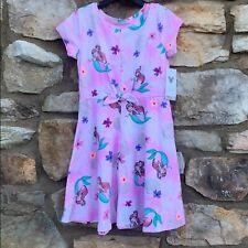 Disney Little Mermaid Pink Dress, size 6, NWT