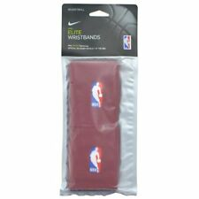 NIKE Elite Wristbands NBA Cavaliers Dri Fit Wristbands 1 Pair, Red