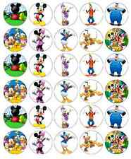 Mickey Mouse Club House Cupcake Toppers Comestibles De Oblea De Papel Compre 2 obtenga 3ª Gratis!