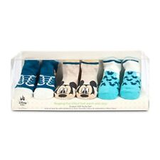 Disney Baby 3 Pack Mickey Mouse Infant Socks  Sz 6-12 Mos - Gift Boxed