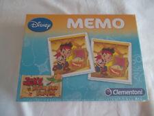 "Disney Memory ""Jake & die Nimmerlandpiraten"" (Clementoni) NEUWARE"
