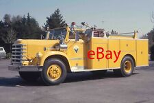 Fire Truck Photo Sunnyvale Diamond-T 920 WESCO Squad Engine Apparatus Madderom