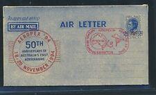 13494) aerogramme australia aeropex 1994, red cachet 20.11., Space
