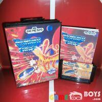 Thunder Force III 3 Game Cartridge SEGA Genesis Boxed with Manual USA NTSC-U/C