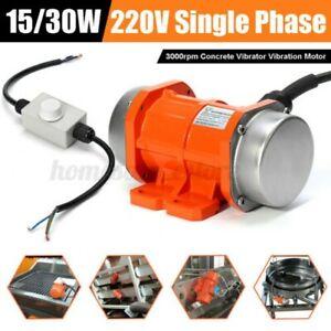 Betonbohrer Vibrator mit Vibration Motor 15W/30W 220V 3000rpm Einphasig ~