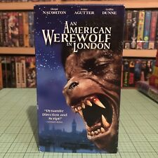 📼 An American Werewolf in London Vhs - Cult Horror - Htf Variant Cover Rare! 🎃