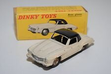 F DINKY TOYS 24H 526 MERCEDES BENZ 190SL 190 SL CREAM BLACK GOOD BOXED