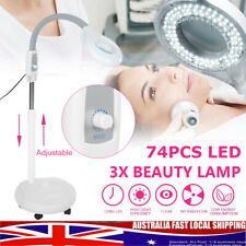 3X LED Diopter Magnifying Floor Lamp Magnifier Glass Facial Light Stand Dentist
