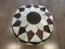 """12""""x20""""  X-Large Egyptian Handmade REAL LEATHER OTTOMAN Footstool Chair Pouf_NEW"""