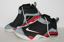 Nike Zoom Fight Club SupremeBasketball Shoes, #373712-012, Blk/Red,Men's US 10.5