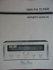 PHASE LINEAR PL 5000 Series II TUNER OWNER'S MANUAL 18 Pages