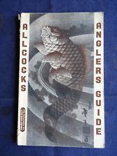 A VINTAGE ALLCOCKS ADVERTISING FISHING CATALOGUE FOR CIRCA 1956/57