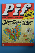 pif gadget n°207 seraphin le papillon helico 12 fevrier 1973 recits complet