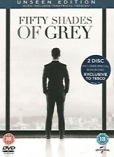 Fifty Shades Of Grey Unseen Edition 2 Disc DVD FREE SHIPPING