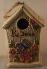 Believe Birdhouse nesting box 17.75cm suitable for small birds